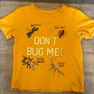 Baby Gap Size 3 Glow In The Dark Bug Shirt
